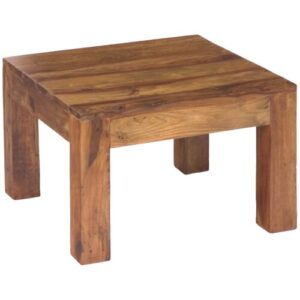 Cube Side Table Ethnic Elements