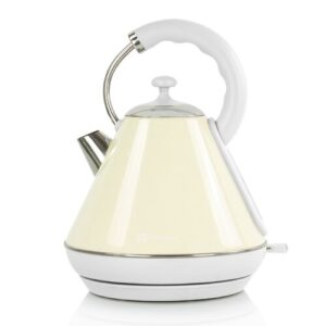 Dainty Legacy 1.8L Stainless Steel Electric Kettle SQ Professional Colour: Chantilly (Cream)