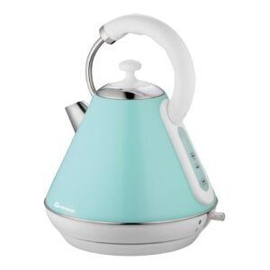 Dainty Legacy 1.8L Stainless Steel Electric Kettle SQ Professional Colour: Mint Green
