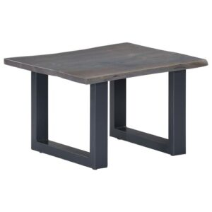 Darold Coffee Table Williston Forge Colour (Table Base): Black, Colour (Table Top): Grey