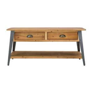 Deeter Coffee Table with Storage Williston Forge