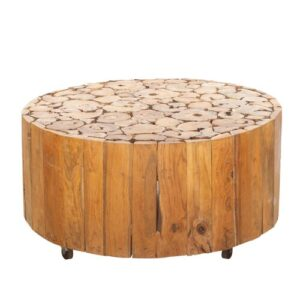 Dewar Solid Wood Coffee Table Union Rustic