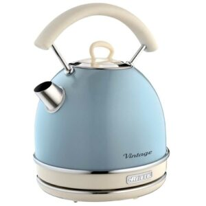 Dome 1.7L Stainless Steel Electric Kettle Ariete Colour: Blue