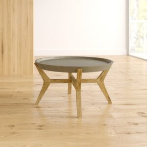 Dominick Coffee Table With Tray Top Isabelline