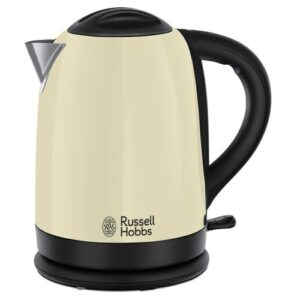 Dorchester 1.7L Stainless Steel Electric Kettle Russell Hobbs Colour: Cream
