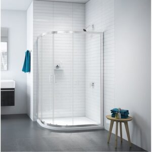 Douglas Quadrant Shower Enclosure Belfry Bathroom Size: 1310mm W x 6mm D