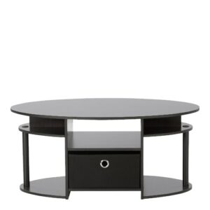 Eda Simple Coffee Table with Storage Zipcode Design