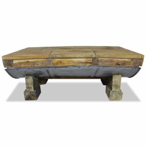 Effie Coffee Table with Storage Union Rustic