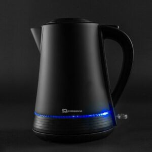 Eleganto Electric Cordless 1.7L Stainless Steel Jug Kettle SQ Professional