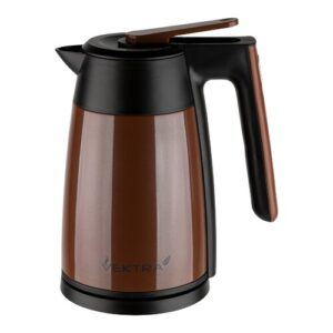 Environmentally Eco Friendly 1.7L Stainless Steel Electric Kettle Vektra Colour: Brown