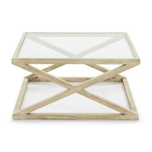 Favors Coffee Table Beachcrest Home Colour (Table Base): Wooden/White