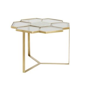 Flower Coffee Table Nordal Size: 40cm H x 60cm L x 60cm W