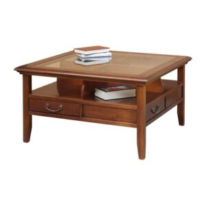 Franklin Coffee Table with Storage Rosalind Wheeler