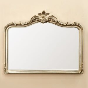 Garst Overmantle Mirror Astoria Grand Finish: Champagne