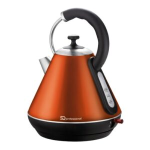 Gems 1.8L Stainless Steel Electric Kettle SQ Professional Colour: Amber (Orange)