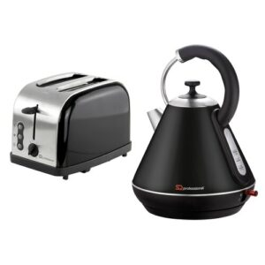 Gems 1.8L Stainless Steel Electric Kettle SQ Professional Colour: Onxy/Metallic Black