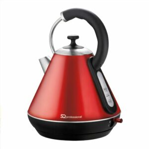 Gems 1.8L Stainless Steel Electric Kettle SQ Professional Colour: Ruby (Red)