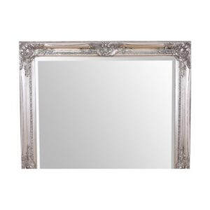 Geno Full Length Mirror Lily Manor Finish: Silver Leaf