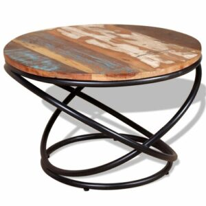 Glenaire Solid Reclaimed Wood Coffee Table Williston Forge