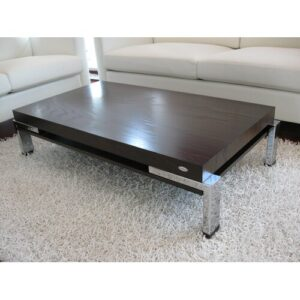 Guadalupe Coffee Table Ebern Designs Colour: Walnut and wenge