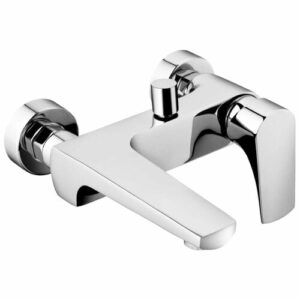 Gurganus Wall Mounted Pillar Taps Belfry Bathroom