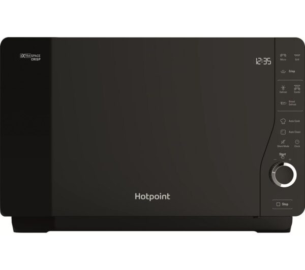 HOTPOINT MWH 26321 MB Microwave with Grill - Black, Black