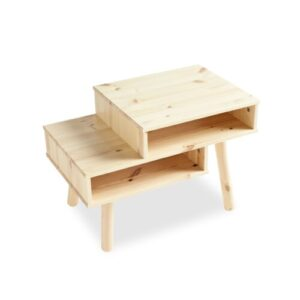 Hako Coffee Table with Storage Karup Design Colour: Natural
