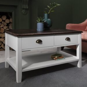 Hendricks Coffee Table with Storage Brambly Cottage