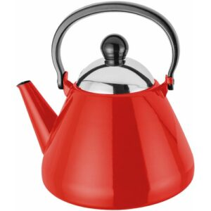 Induction 1.5L Stovetop Kettle Judge Colour: Red