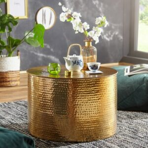 Janay Coffee Table Bloomsbury Market Colour: Gold