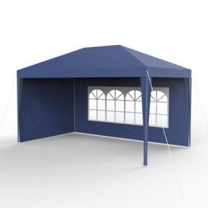 Jewett 4m x 3m Pop-Up Gazebo Sol 72 Outdoor Ceiling colour: Blue