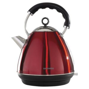 Kensington 1.7L Stainless Steel Electric Kettle Daewoo Colour: Red