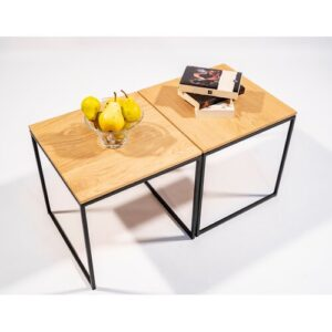 Langford Coffee Table Williston Forge Colour (Table Top): Light Oak