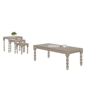 Lilac Coffee Table Marlow Home Co. Colour: Rose Gold