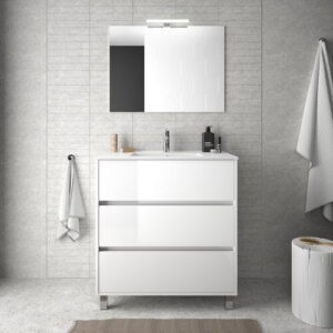 Louisa 810mm Free-standing Single Vanity Unit Belfry Bathroom