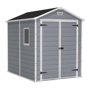 Manor 6 Ft. W x 8 Ft. D Resin Garden Shed Keter