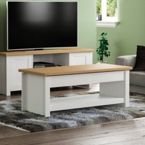 Manos Coffee Table Brambly Cottage Table Base Colour: White