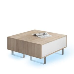 Mash Coffee Table Selsey Living Colour (Table Base): White, Colour (Table Top): White, LED: Yes