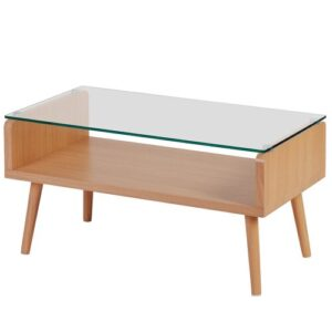 Meryl Coffee Table with Storage Ebern Designs