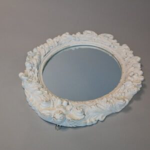 Mirror Lily Manor Finish: White