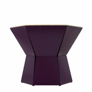 Natasha Coffee Table Ebern Designs Size: H48.5 x L62 x W54cm, Colour (Table Base): Plum