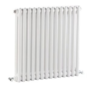 Nelson Double Column Horizontal Traditional Colosseum Radiator Bayswater Bathrooms