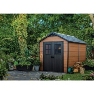 Newton 7 ft. W x 11 ft. D Plastic Garden Shed Keter
