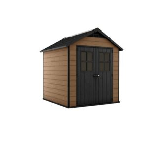 Newton 7 ft. W x 7 ft. D Plastic Garden Shed Keter