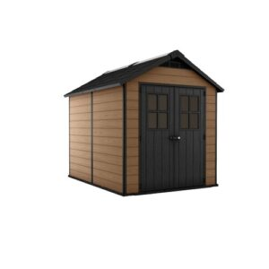 Newton 7 ft. W x 9 ft. D Plastic Garden Shed Keter