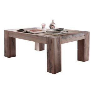 Noam Coffee Table Gracie Oaks Size: 53cm H x 140cm L x 80cm W, Colour: White