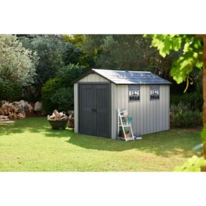 Oakland 7 ft. W x 11 ft. D Plastic Garden Shed Keter