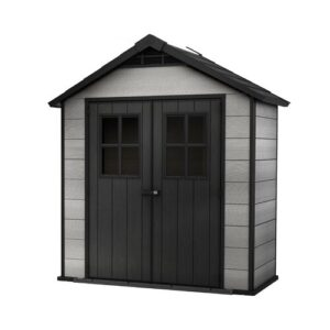 Oakland 7 ft. W x 4 ft. D Plastic Garden Shed Keter