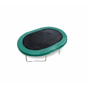 Oval Trampoline Cover JumpKing Size: 289.56cm W x 182.88cm D
