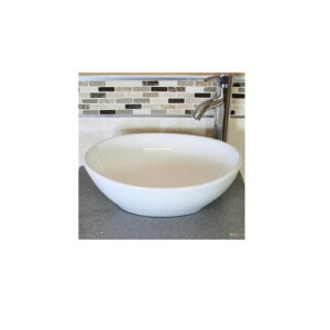 Painuly Ceramic Countertop Basin with Tap Belfry Bathroom